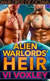 bargain ebooks Alien Warlords' Heir SciFi Romance by Vi Voxley
