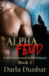 bargain ebooks Alpha Feud Paranormal Shifter Romance by Darla Dunbar
