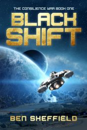 bargain ebooks Black Shift Military Science Fiction by Ben Sheffield