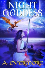bargain ebooks Night Goddess Fantasy by A. Evermore