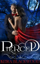 bargain ebooks Pierced: A Wolf Shifter and Vampire Romance Paranormal Romance by Keira Blackwood