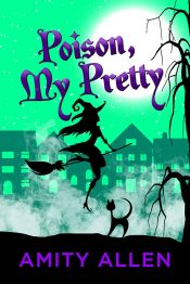 bargain ebooks Poison My Pretty Paranormal Mystery by Amity Allen