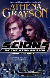 athena grayson scandal scions of the star empire