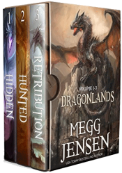 bargain ebooks Dragonlands, Books 1-3 Horror / Dark Fantasy by Megg Jensen