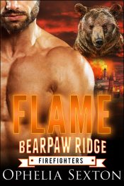 bargain ebooks Flame (Bearpaw Ridge Firefighters) Paranormal Romance by Ophelia Sexton