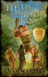 bargain ebooks Heir of the Blood King Young Adult/Teen Action/Adventure by W.O. Cassity