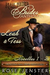 bargain ebooks Mail Order Brides Anthology: Leah and Tess Historical Romance by Rose Jenster