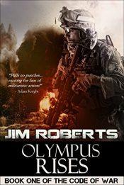 bargain ebooks Olympus Rises SciFi Thriller by Jim Roberts