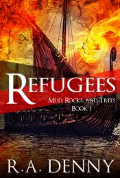 bargain ebooks Refugees Young Adult Fantasy by R.A. Denny