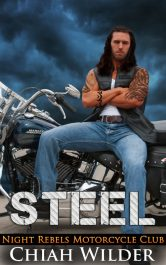 bargain ebooks STEEL: Night Rebels Motorcycle Club Romance by Chiah Wilder