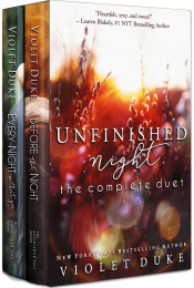 bargain ebooks Unfinished Night: The Complete Duet Romance by Violet Duke