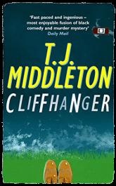 bargain ebooks Cliffhanger Humorous Mystery by T.J. Middleton