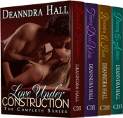 bargain ebooks Love Under Construction: The Complete Series Erotic Romance by Deanndra Hall