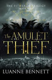 bargain ebooks The Amulet Thief Horror by Luanne Bennett