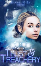 bargain ebooks Trust & Treachery Science Fiction by Charissa Dufour