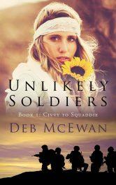 bargain ebooks Unlikely Soldiers Historical Adventure by Deb McEwan