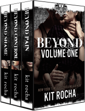 bargain ebooks Beyond Series Bundle, Volume One (Books 1-3) Erotic Romance by Kit Rocha