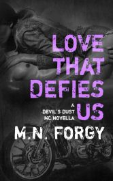 bargain ebooks Love That Defies Us Erotic Romance by M.N. Forgy