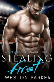 bargain ebooks Stealing First Sports Romance by Weston Parker