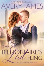 bargain ebooks The Billionaire's Last Fling Contemporary Romance by Avery James