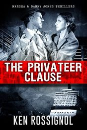 bargain ebooks The Privateer Clause Thriller by Ken Rossignol