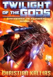 bargain ebooks Twilight of the Gods Science Fiction Adventure by Christian Kallias