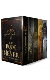 Ashley Capes the Book of Never