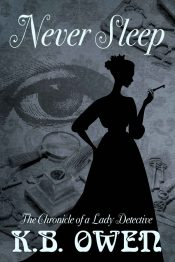 Never Sleep: The Chronicle of a Lady Detective Historical Mystery by K.B. Owen