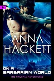 bargain ebooks On a Barbarian World Erotic Romance by Anna Hackett