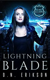 Lightning Blade Urban Fantasy / Horror by D.N. Erikson