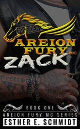 Zack (Areion Fury MC) Erotic Romance by Esther E. Schmidt