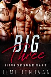Big Three Erotic Romance by Demi Donovan