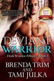 bargain ebooks Deviant Warrior Erotic Romance by Brenda Trim & Tami Julka