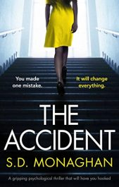 S.D. Monaghan The Accident free Kindle ebooks
