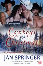 bargain ebooks Cowboys for Christmas Erotic Romance by Jan Springer