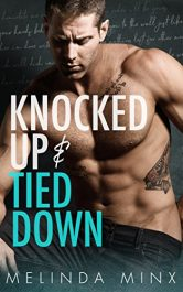 bargain ebooks Knocked Up and Tied Down Erotic Romance by Melinda Minx
