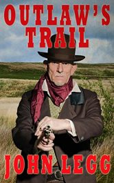 bargain ebooks Outlaw's Trail Historical Fiction by John Legg