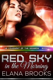 bargain ebooks Red Sky in the Morning Science Fiction Romance by Elana Brooks