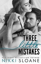 bargain ebooks Three Little Mistakes Erotic Romance by Nikki Sloane
