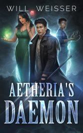 bargain ebooks Aetheria's Daemon Science Fiction Adventure by Will Weisser