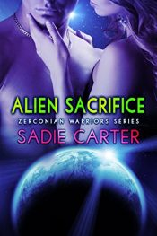 bargain ebooks Alien Sacrifice Erotic Romance by Sadie Carter