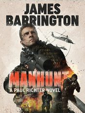 bargain ebooks Manhunt Thriller by James Barrington