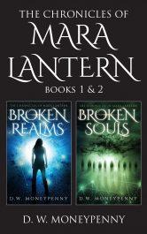bargain ebooks The Chronicles of Mara Lantern Series: Books 1 & 2 Fantasy by D.W. Moneypenny