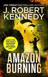 bargain ebooks Amazon Burning Thriller by J. Robert Kennedy