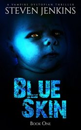 bargain ebooks Blue Skin SciFi Thriller by Steven Jenkins