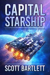bargain ebooks Capital Starship (Ixan Legacy Book 1) Science Fiction/Action Adventure by Scott Bartlett