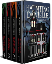 bargain ebooks Haunting Danielle: Books 1-4 Supernatural Cozy Mystery by Bobbi Holmes