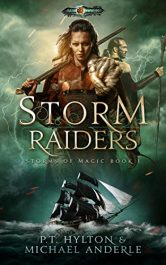 bargain ebooks Storm Raiders Myth's and Legends Fantasy by P.T. Hylton