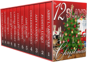 bargain ebooks The 12 Slays of Christmas  Cozy Mystery by Abby L. Vandivera