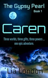 bargain ebooks The Gypsy Pearl Book 1: Caren Science Fiction Adventure by Lia London